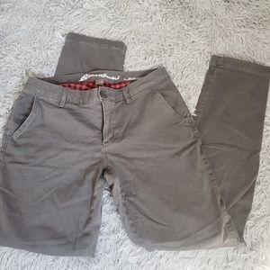 EDDIE BAUER | Flannel Lined Boyfriend Trousers!